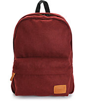 Vans Deana Burgundy Wool Backpack