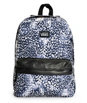 Vans Deana Washed Leopard Print Backpack