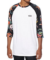 Vans Death Bloom Baseball T-Shirt