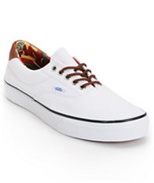 Vans Era 59 True White & Aloha Print Canvas Shoe