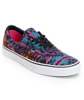 Vans Era Inca Black & Pink Tribal Print Shoe