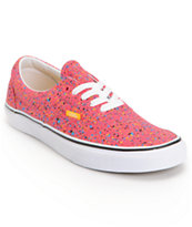 Vans Era Overspray Red Shoe