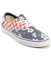 Vans Era Van Doren Aloha & Checker Canvas Shoe