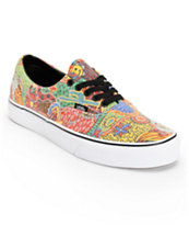 Vans Era Van Doren Yellow Print Skate Shoes