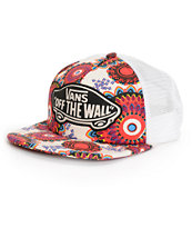 Vans Geo Floral Trucker Hat