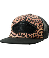 Vans Girls Beach Girl Leopard Trucker Hat
