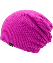 Vans Girls Neon Purple Beanie