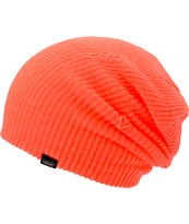 Vans Girls Neon Red Beanie