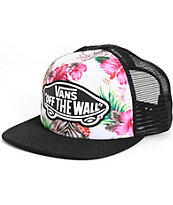 Vans Hawaiian Floral Trucker Hat