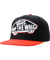 Vans Home Team Black & Red Snapback Hat