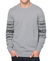 Vans Hult Grey Crew Neck Sweater