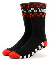 Vans Kabby 2 Black Crew Socks