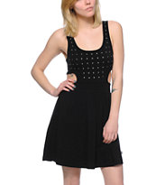 Vans Libbey Black Studded Dress