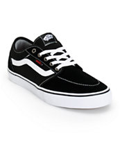 Vans Lindero 2 Black & White Shoes