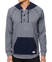 Vans Lindero Long Sleeve Hooded Henley Shirt