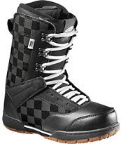 Vans Mantra Black & White Snowboard Boot