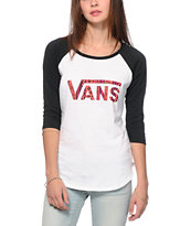 Vans Maui Native Baseball Tee