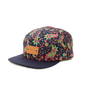 Vans Navy Paisley 5 Panel Hat