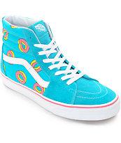 Vans Odd Future Sk8-Hi Scuba Blue Donut Shoe