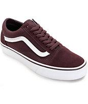 Vans Old Skool Iron Brown & White Shoes