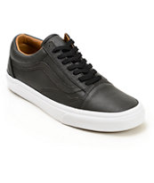 Vans Old Skool Leather Skate Shoes