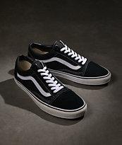 Vans Old Skool zapatos de skate en blanco y negro