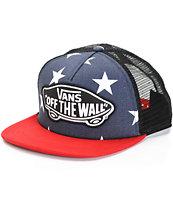 Vans Peacoat Americana Trucker Hat
