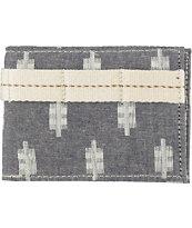 Vans Prescott Ikat Print Grey Bifold Wallet