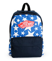 Vans Realm Stars Print Backpack