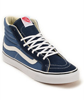 Vans SK8 Hi Slim Navy Shoes