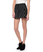 Vans Selena Crosses Black Mini Skirt