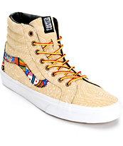Vans Sk8 Hi Zio Ziegler Skate Shoes