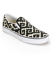 Vans Van Doren Geo Tribal Slip-On Shoes