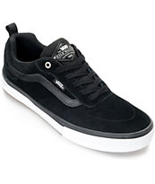 Vans Walker Pro Black Blue Fog Skate Shoes