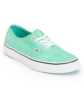 Vans Women's Authentic Sparkle Mint Shoe