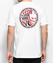 Vans X Spitfire camiseta blanca