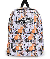 Vans x ASPCA Realm Cat 2 Backpack