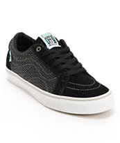 Vans x Alien Workshop AV Native American Low Black Skate Shoe