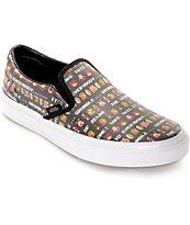 Vans x Nintendo Leather Slip On Zelda Shoes (Womens)