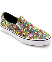 Vans x Nintendo Mario Bros Classic Slip On Shoes