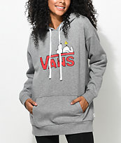 Vans x Peanuts Snoopy Heather Grey Hoodie