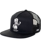 Vans x Sketchy Tank Black Trucker Hat