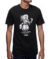 Vans x Sketchy Tank Luau Lady Black T-Shirt