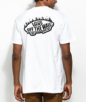 Vans x Thrasher White Pocket T-Shirt