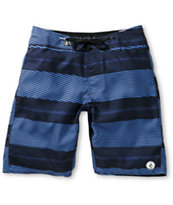 Volcom 12th St Blue Stripe 21 Board Shorts