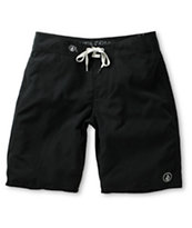 Volcom 38th St Solid Black 21 Board Shorts