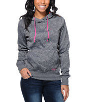Volcom Aluka Charcoal Pullover Hydro Tech Fleece Jacket