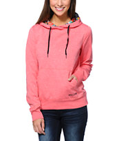 Volcom Aluka Coral Pullover Hydro Tech Fleece Jacket