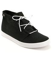 Volcom Art Show Black Canvas Mid Top Shoe
