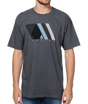 Volcom Athletic Charcoal Tee Shirt